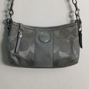 Coach Gray Purse/Handbag